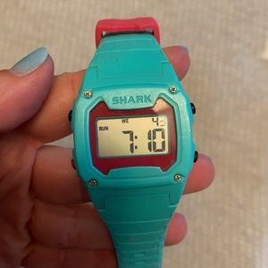 Teal Shark watch